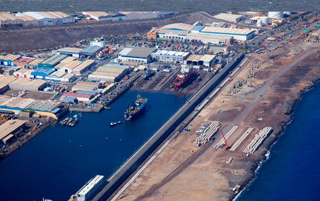Las palmas port ready for the future zamakona yards - Port of las palmas gran canaria ...