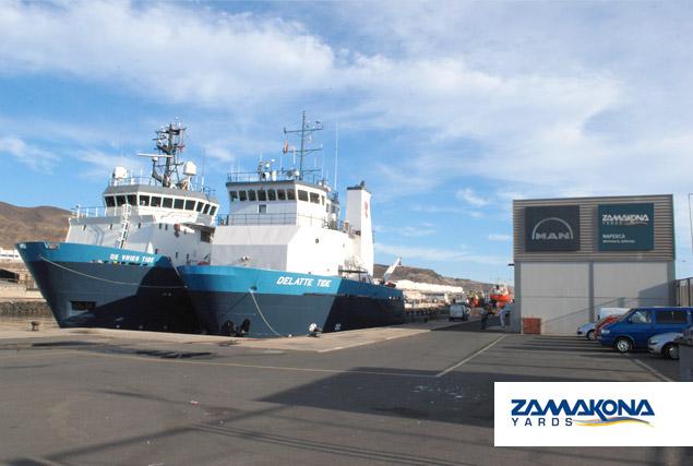 zamakona yards repairs the osv fleet of tidewater