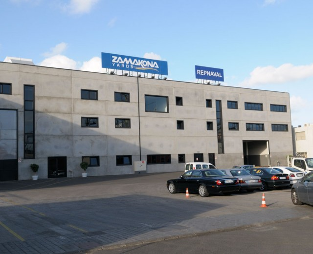 Oficinas Mecanica Zamakona Yards Canarias